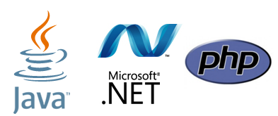 technologies back office Java JEE microsoft .Net php php5